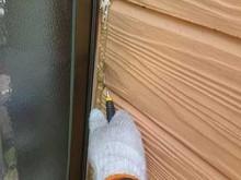 吉岡町 外壁コーキング打ち替え 撤去