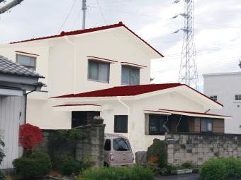 前橋市上小出町カラーシミュレーション3