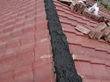 前橋市六供町S様 棟瓦の積み直し 南蛮漆喰