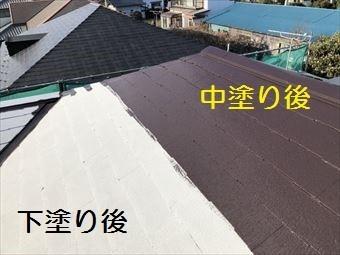前橋市富士見町中塗り