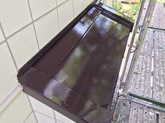 北軽井沢 別荘 下屋根塗装完工