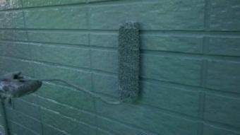 桐生市新里町s様邸外壁上塗り