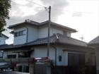 上新田町棟瓦の積み直し