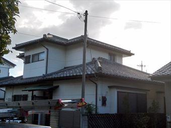 前橋市上新田町_棟瓦の調査から完工までのご紹介です
