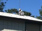 北軽井沢別荘 屋根塗装