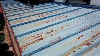 前橋市富士見町k様邸屋根塗装工事トタン