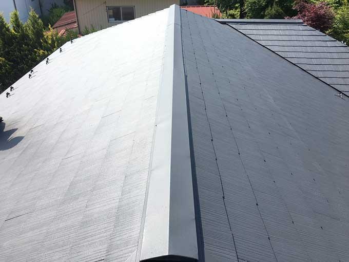 前橋市石倉町屋根塗装完工