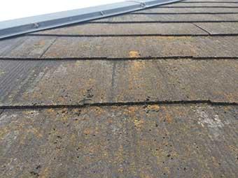 屋根劣化写真