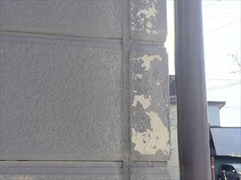 草津町Y様邸外壁の剥がれ