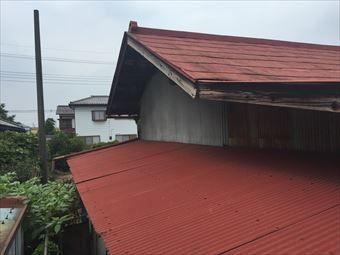前橋市二之宮町K様邸屋根塗装塗装前