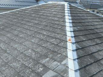 高崎市下里見町塗装前のコロニアル屋根