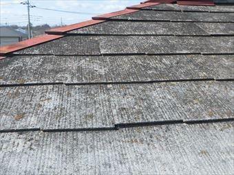 前橋市色褪せした屋根