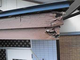渋川市半田 屋根修理
