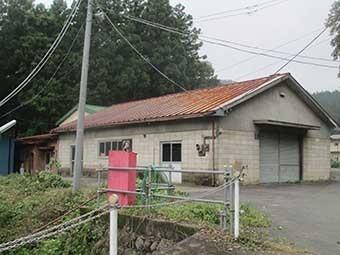 太田市熊野町倉庫外観