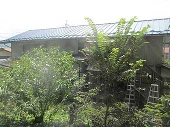 東吾妻町S様邸2F屋根北側