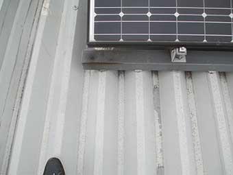 前橋市川原町駐車場屋根