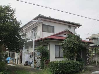 渋川市三原田Y様外観南側
