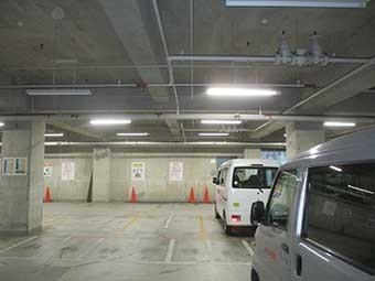 前橋市駒形町Yビル地下駐車場