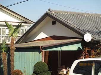 渋川市伊香保町T様作業場屋根