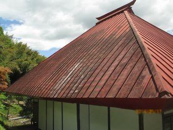 東吾妻町Y寺屋根塗装見積もり