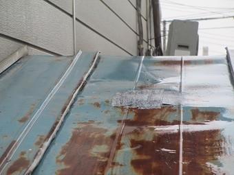 前橋市O様邸雨漏り調査4