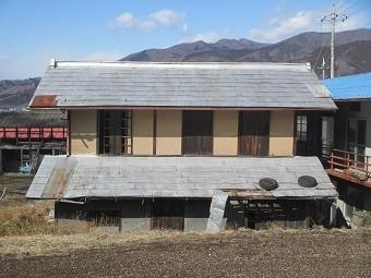 渋川市A様邸屋根の板金全体写真