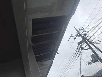 高崎市大八木町 陸屋根防水工事 現地調査