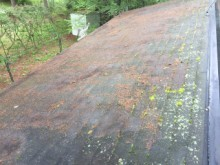 前橋市屋根塗装着工前③調査
