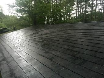 前橋の屋根塗装下塗り完了