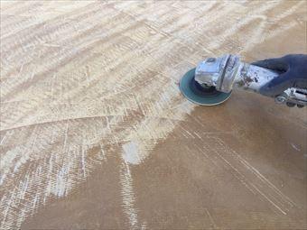 前橋市青柳町A様邸防水工事ケレン床
