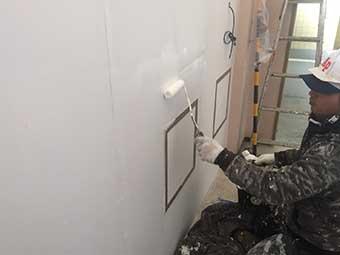 室内壁塗装