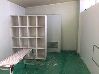 室内塗装完了