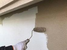 藤岡市 屋根外壁塗装 外壁中塗り