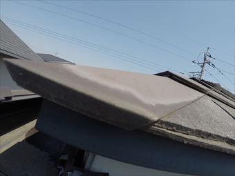 前橋市文京町屋根見積もり色褪せ確認