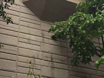 伊勢崎市波志江町外壁の汚れ