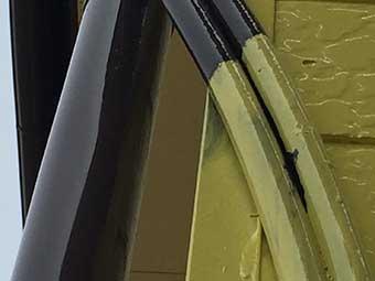 高崎市貝沢町手抜き塗装工事事例3