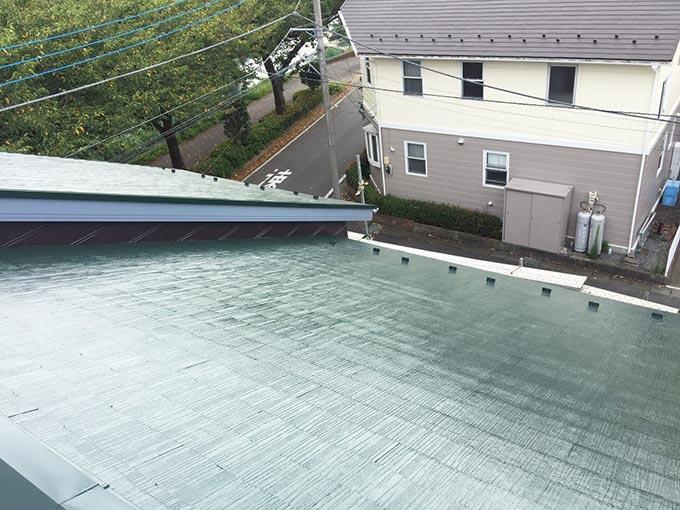 前橋市富士見町Y様邸屋根塗装後