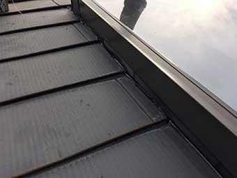 北軽井沢 天窓の雨漏り補修完了