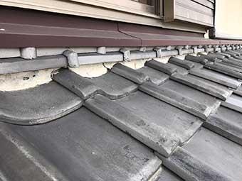 高崎市宿大類町 屋根漆喰調査