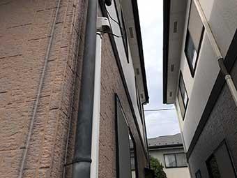 高崎市高関町 雨樋 現場調査