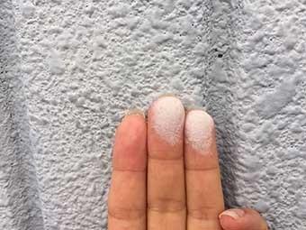 高崎市沖町 アパート 外壁塗装劣化
