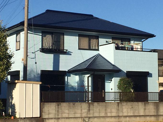 伊勢崎市 屋根外壁塗装 完成