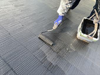 駒形町棟板金交換と屋根塗装