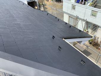 駒形町屋根塗装完成