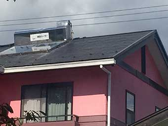 沼田市水上町T様邸屋根塗装