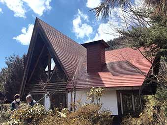 吾妻郡嬬恋村S様邸屋根塗装