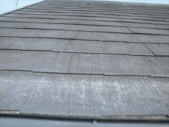 前橋市日吉町コロニアル屋根の劣化