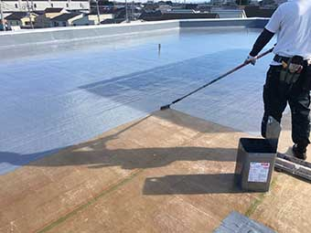 前橋市 屋上防水トップコート