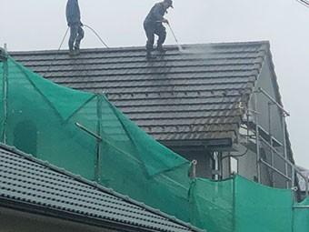 高崎市八千代町 屋根洗浄
