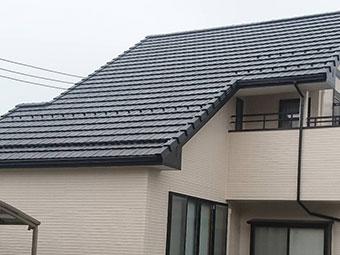 高崎市正観寺町 屋根塗装完成